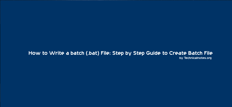 how to write a batch file to delete a file