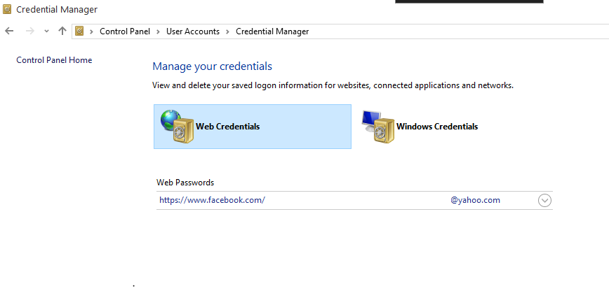 How to View Your Password Saved in Microsoft Edge in Windows 10