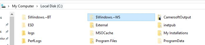 Windows ~WS