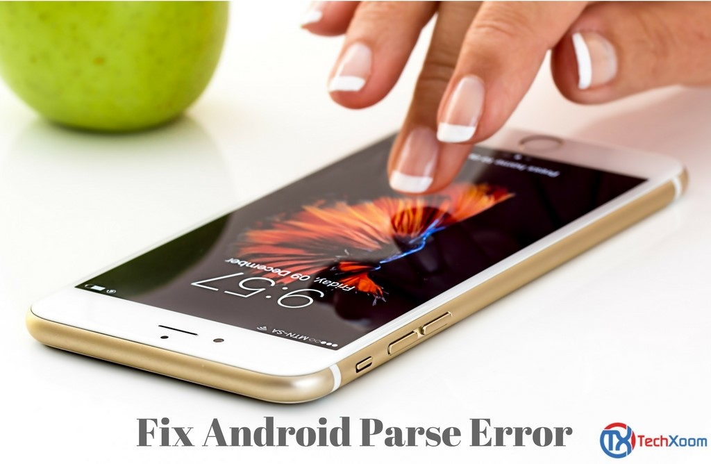 Fix Parse Error