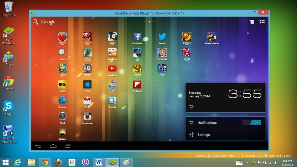 download bluestacks for pc windows 7 1gb ram