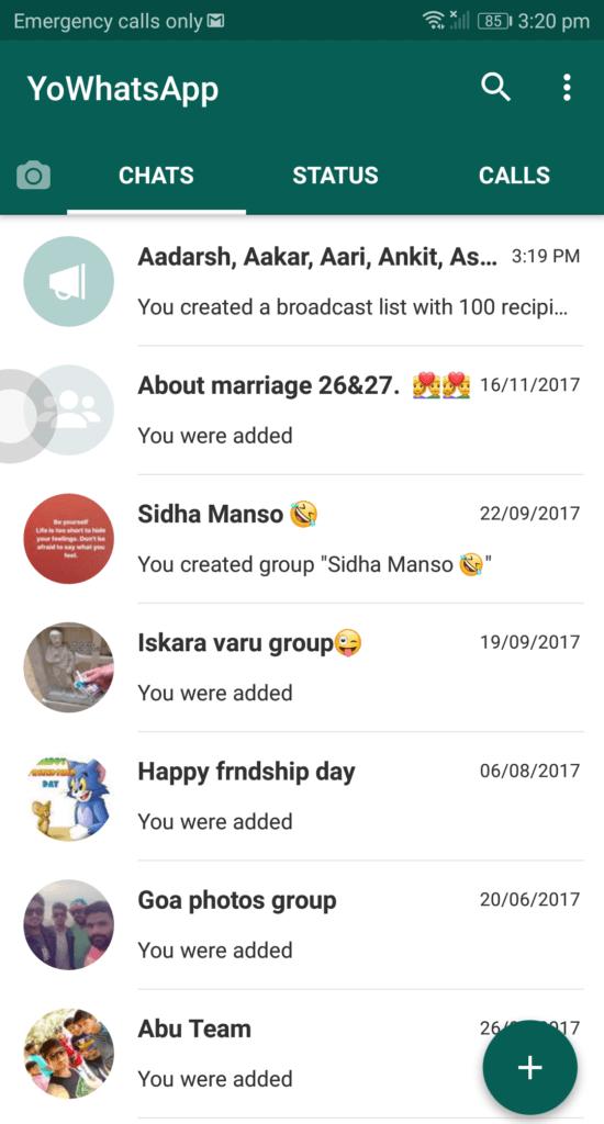 yo whatsapp 7.15 download