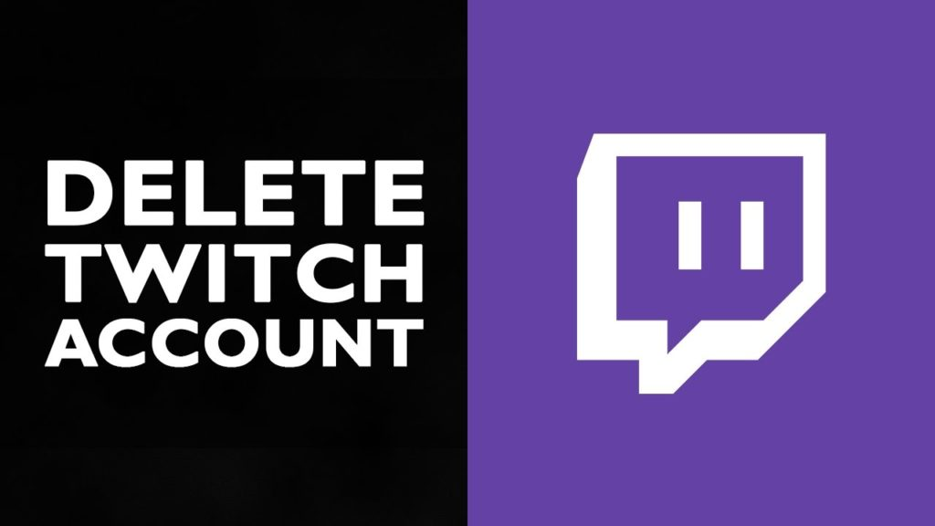 Delete Twitch Account techxoom