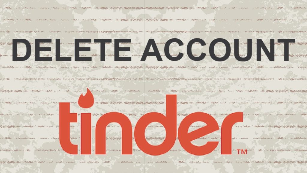 How to Delete Tinder Account