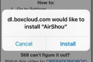 airshou-install-ios-11-no-jailbreak
