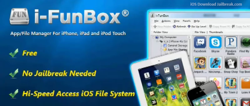 Download iFunBox iOS for Windows and Mac