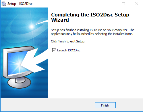ISO2Disc Installation image